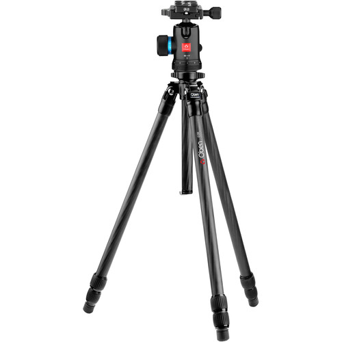 Oben CT-2331 Carbon Fiber Tripod and BE-117 Ball Head Kit