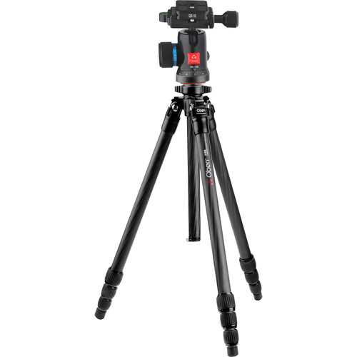 Oben CT-2431 Carbon Fiber Tripod and BE-108 Ball Head Kit