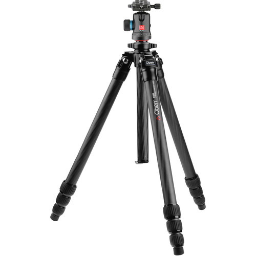 Oben CT-2481 Carbon Fiber Tripod and BE-126 Ball Head Kit