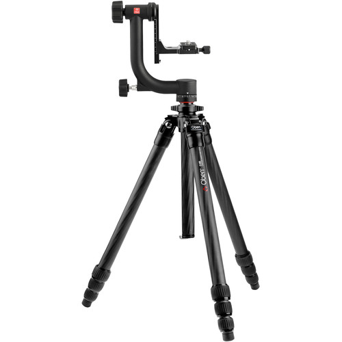 Oben CT-2491 Carbon Fiber Tripod and GH-30 Gimbal Head Kit