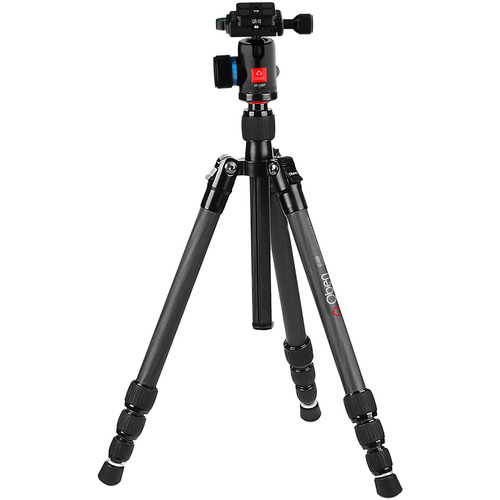 Oben CT-3431 Carbon Fiber Travel Tripod with BE-108T Ball Head
