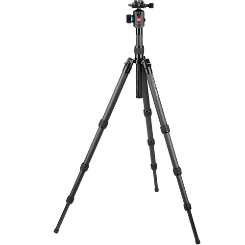 Oben CT-3461 Carbon Fiber Travel Tripod with BE-117T Ball Head