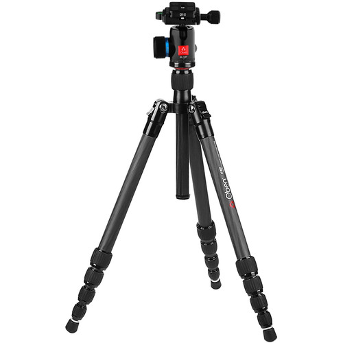 Oben CT-3521 Carbon Fiber Travel Tripod with BE-106T Ball Head