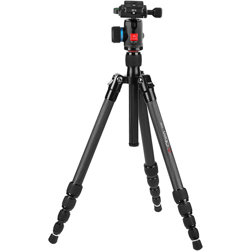 Oben CT-3531 Carbon Fiber Travel Tripod with BE-108T Ball Head