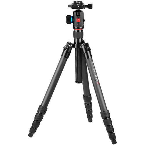 Oben CT-3561 Carbon Fiber Travel Tripod with BE-117T Ball Head