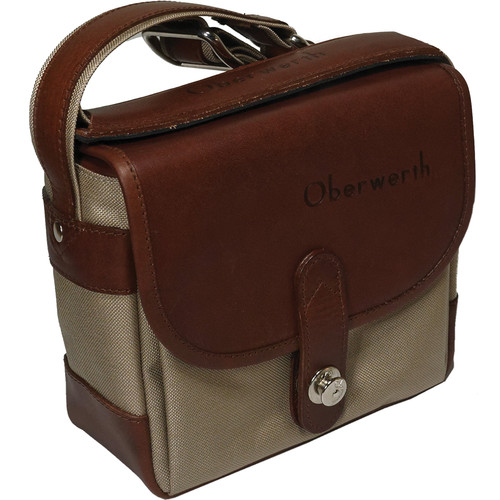 Oberwerth Bayreuth Compact Camera Bag (Beige/Light Brown)