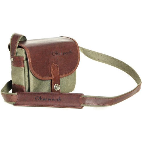 Oberwerth Bayreuth Compact Camera Bag (Olive/Dark Brown)