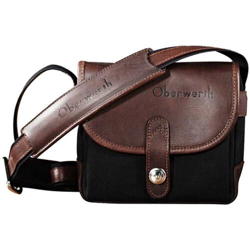 Oberwerth Bayreuth Compact Camera Bag (Black/Dark Brown)