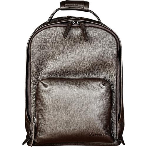 "Oberwerth Matterhorn 13"" Leather Backpack (Brown)"