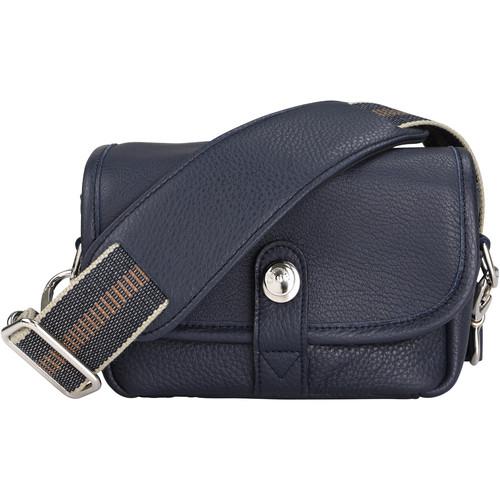 Oberwerth Charlie Camera Bag (Dark Blue, Leather)