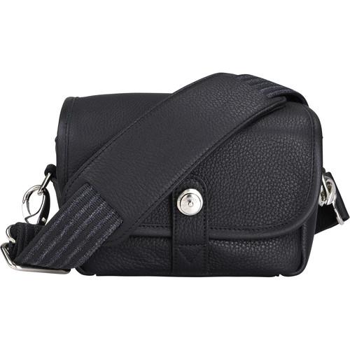 Oberwerth Charlie Camera Bag (Black, Leather)
