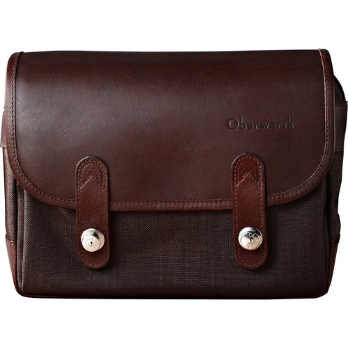 Oberwerth Freiburg Small Camera Bag (Brown/Dark Brown)