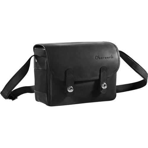 Oberwerth Freiburg Small Camera Bag (Black/Black)