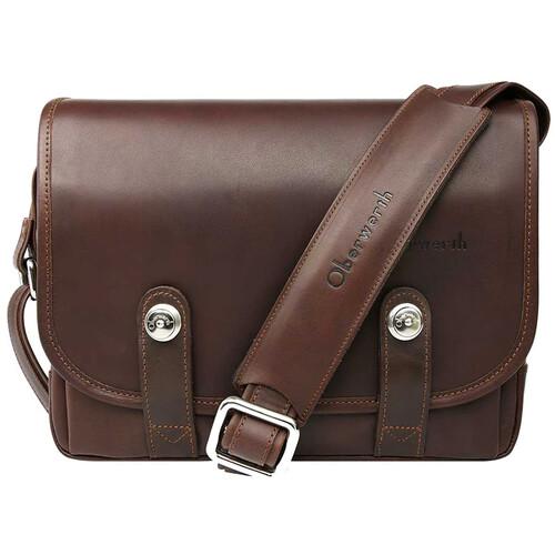 Oberwerth Freiburg Small Camera Bag (Dark Brown)