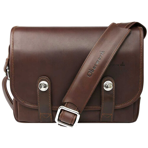 Oberwerth Freiburg Small Camera Bag (Dark Brown)