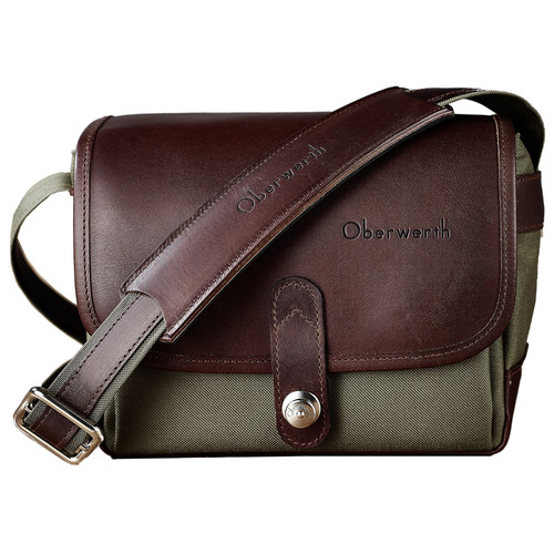 Oberwerth Frankfurt Camera Bag (Olive/Dark Brown)