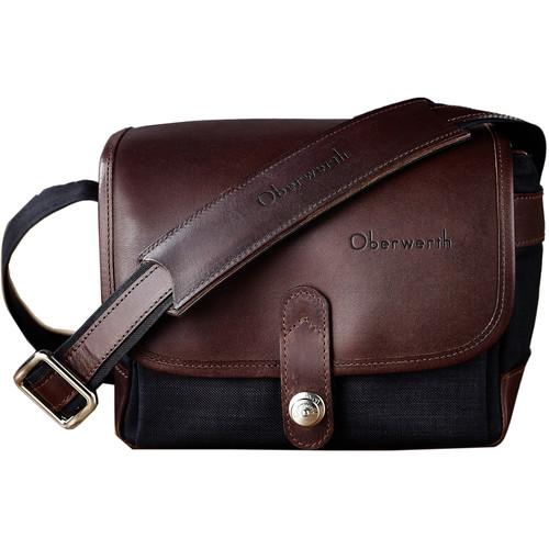 Oberwerth Frankfurt Camera Bag (Black/Dark Brown)