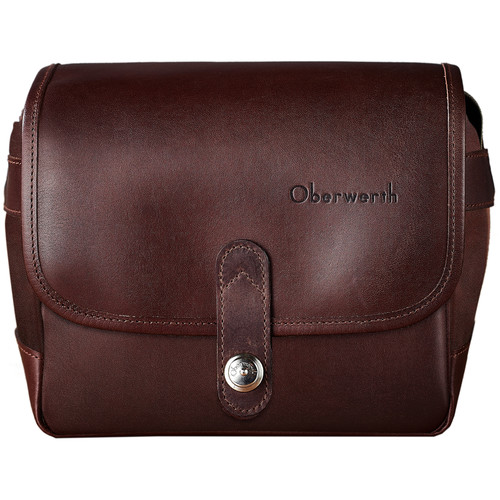 Oberwerth Frankfurt Camera Bag (Dark Brown)