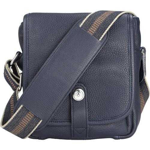 Oberwerth George Leather Camera Bag (Dark Blue/Navy)