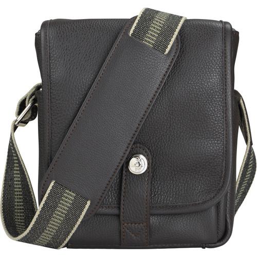 Oberwerth George Leather Camera Bag (Dark Brown)