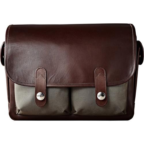 Oberwerth Heidelberg Camera Bag (Olive/Dark Brown)