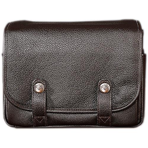 Oberwerth Harry & Sally Leather Shoulder Camera Bag (Dark Brown)