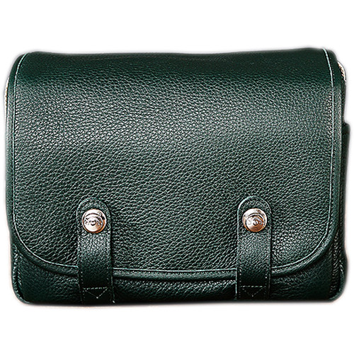 Oberwerth Harry & Sally Leather Shoulder Camera Bag (Oxford Green)
