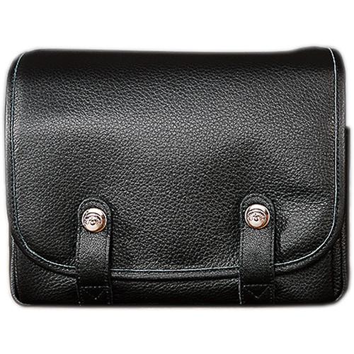 Oberwerth Harry & Sally Leather Shoulder Camera Bag (Black)