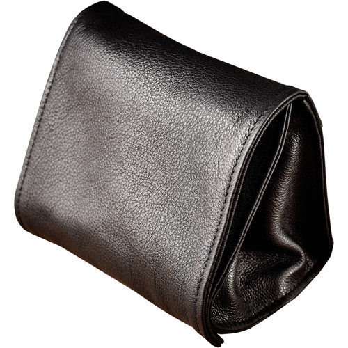 Oberwerth Jan Cow-Hide Camera Wrist Pouch (Black)