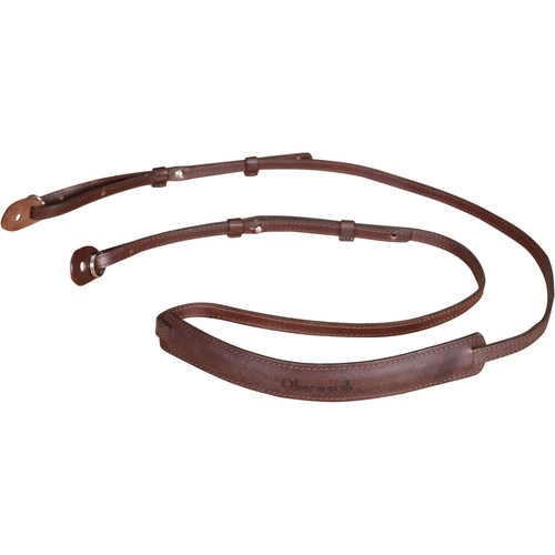 Oberwerth Mosel Camera Strap for DLSR Camera (Dark Brown)