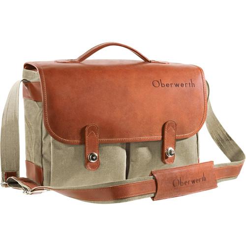 Oberwerth Munchen Large Camera Bag (Beige/Light Brown)