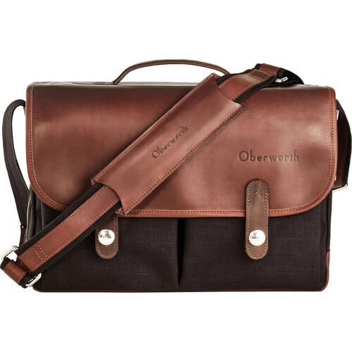 Oberwerth Munchen Large Camera Bag (Black/Dark Brown)