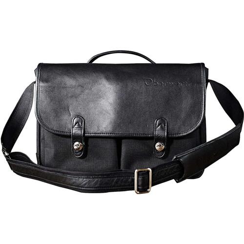 Oberwerth Munchen Large Camera Bag (Black/Black)