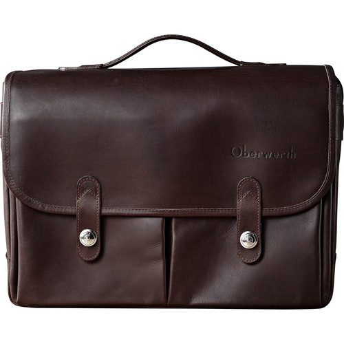 Oberwerth Munchen Large Camera Bag (Dark Brown)