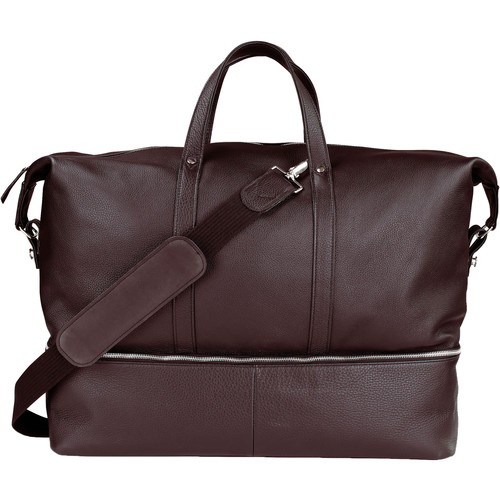 Oberwerth Weekender Nelson L Camera Bag (Dark Brown)