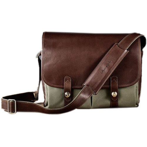 Oberwerth Porto Camera Bag (Olive/Dark Brown)