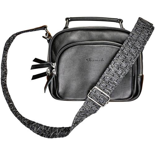 Oberwerth Leather Shoulder Strap for Kiki (Black/Gray)
