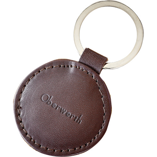 Oberwerth Spree Dark Brown Leather Key Fob