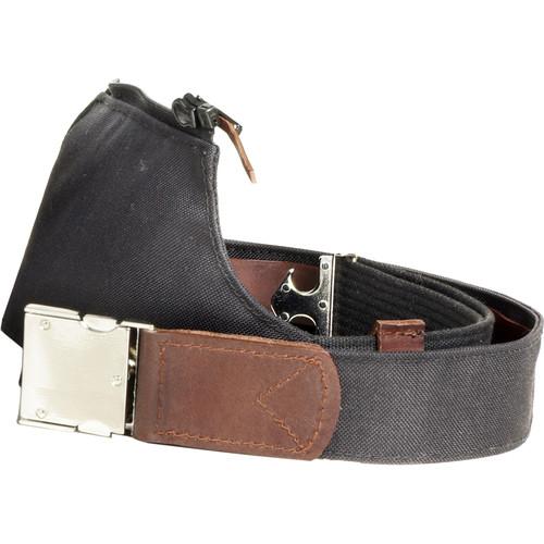 Oberwerth Carrying Belt for Photobag Garmisch (Black/Dark Brown)