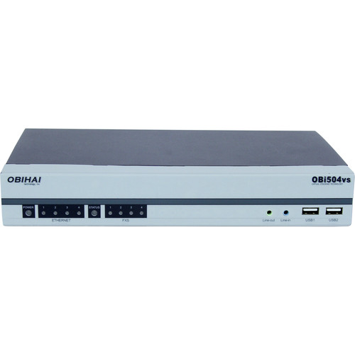 Obihai Technology OBi504 VoIP Gateway