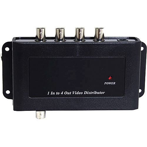 Unique Product Solutions 1 x 4 Composite Video Distribution Amplifier with BNC Connectors