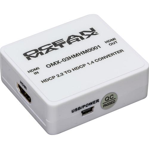Ocean Matrix HDMI HDCP 2.2 to HDCP 1.4 Mini Converter