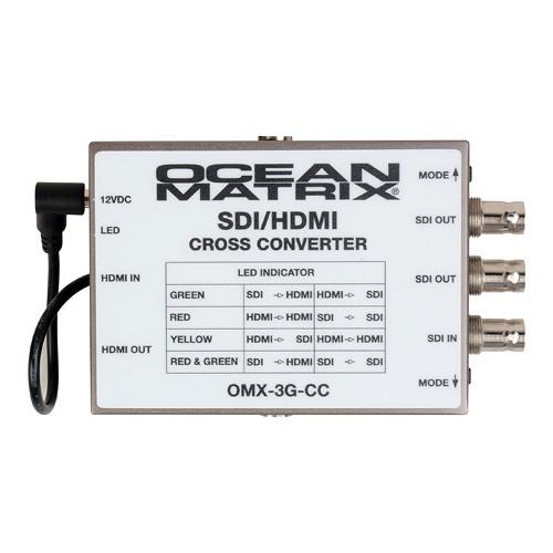 Ocean Matrix 3G SDI-HDMI Multiformat Cross Converter
