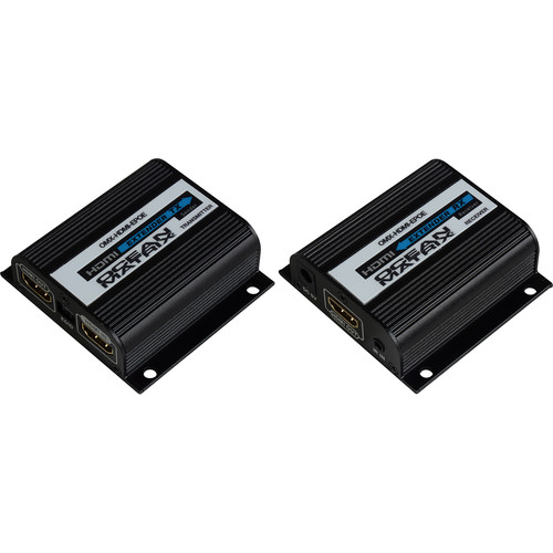 Ocean Matrix 1080p HDMI Extender Kit over Cat 6/6a/7 with EDID and PoE (110')
