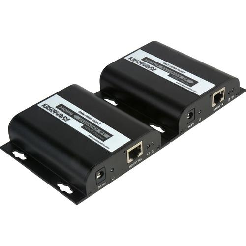 Ocean Matrix 1080p HDMI Extender over Single Cat5/5e/6 with HDbitT/IP (394')