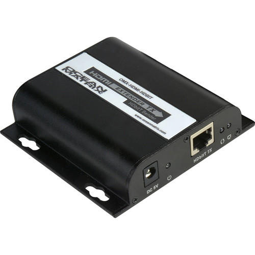 Ocean Matrix 1080p HDMI Extender over Single Cat5/5e/6 with HDbitT/IP Transmitter