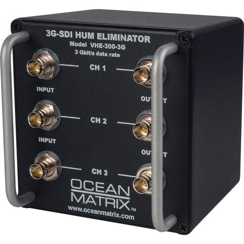 Ocean Matrix 3G-SDI Video Hum Eliminator (3-Channel)