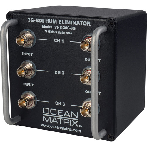 Ocean Matrix 3G-SDI Video Hum Eliminator (3-Channel)