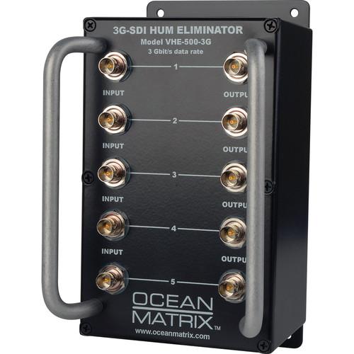 Ocean Matrix 3G-SDI Video Hum Eliminator (5-Channel)