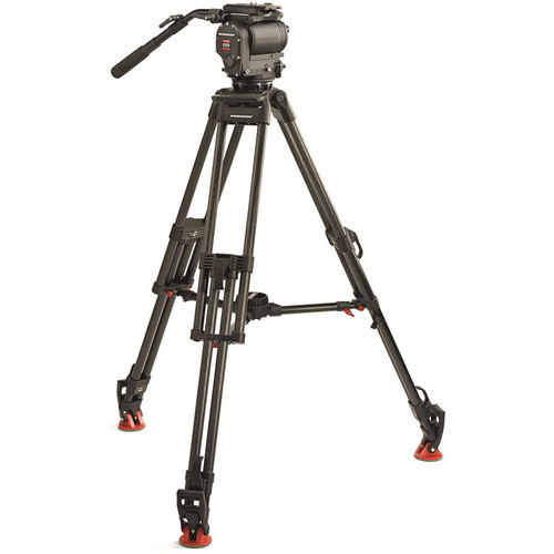 OConnor Ultimate 1030Ds Fluid Head & 30L CF Tripod with Mid-Level Spreader & Case